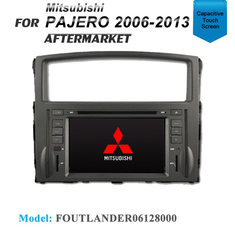 "7"" GPS DVD SAT NAV IPOD BLUETOOTH STEREO SD USB FOR MITSUBISHI PAJERO 2006-2013"